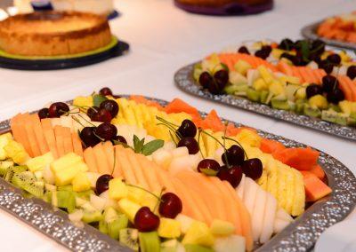 Obst-Platte am Buffet