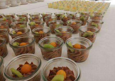 Dessert Buffet der Hofschenke Zum Schwarzen Beck
