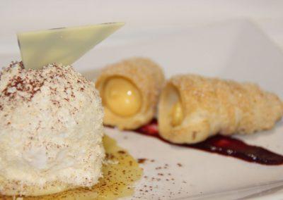 Dessert in der Hofschenke